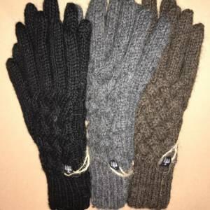 Gitterhandschuhe Alpaka
